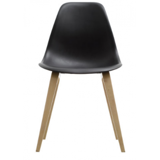 ROME Classic Side Chair with Veneer Base