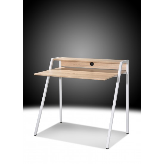 CARVALLO Writing Table with Metal Legs