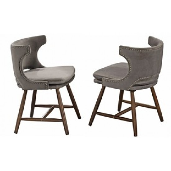 DINING CHAIR CKE GOLD 23-411-WL