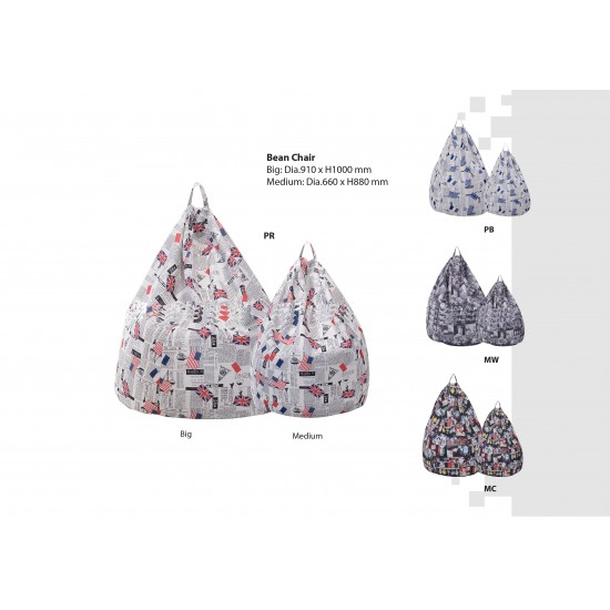 ICO Fabric Large Bean Bag
