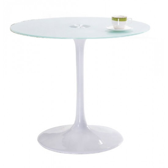 CAMILA Glass Top Table