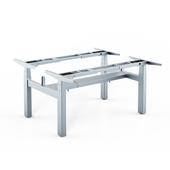 IDM Height Adjustable Face to Face Cluster of 2 Table Frame / Lifting Frame / Sit-Stand Table Frame