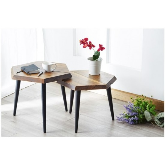HONEYCOMB Coffee Table with Side Table