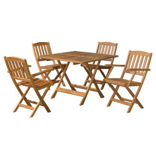 MANCINI Folding Table Set