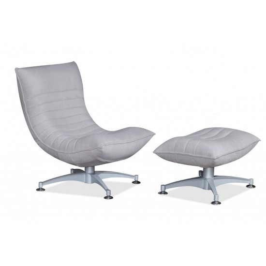 IRI Swivel Recliner Chair (Fabric)