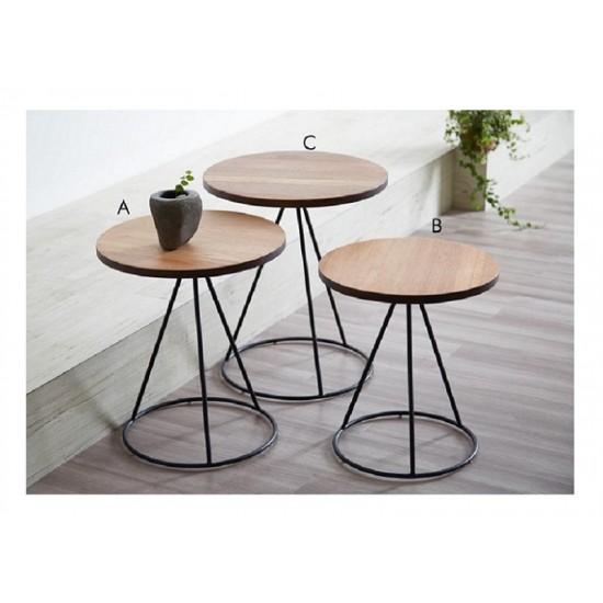 TERRA Nesting Table (Round Leg)