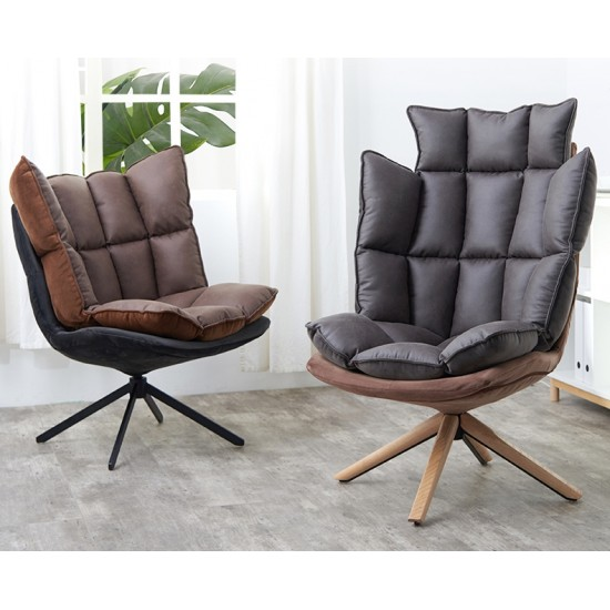 SAMPLE - CHOCO Lowback Swivel Lounge Chair