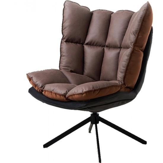 CHOCO Lowback Swivel Lounge Chair