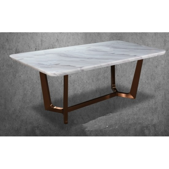 SOOS Rose Gold Table Base