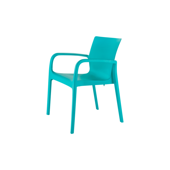 ALISSA Stackable Patio Dining Armchair