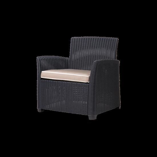 GARDENIA Outdoor Club Chair High Foot