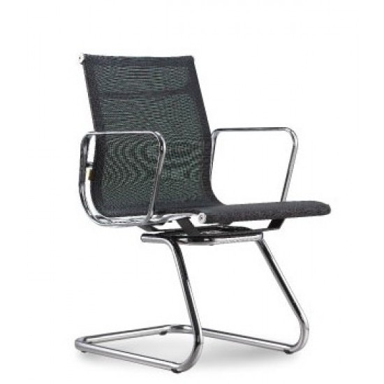 NUVO Lowback Mesh Chair - Cantilever