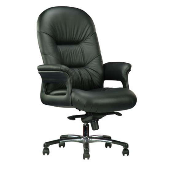 ATLANTA Leather Series B - Highback Arm Chair