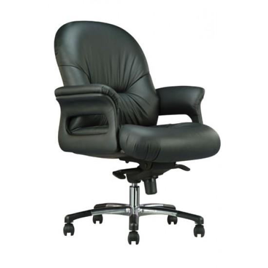 ATLANTA Leather Series B - Lowback Arm Chair