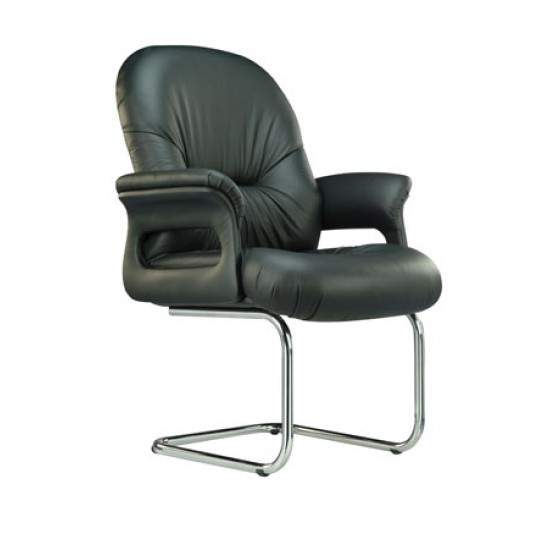 ATLANTA Leather Series B - Conference Arm Chair