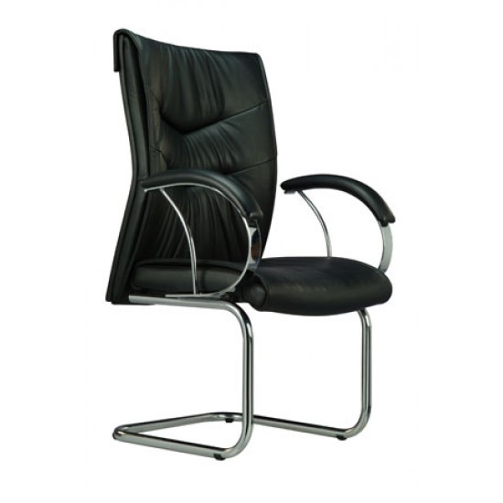 ATLANTA Leather Series A - Conference Arm Chair