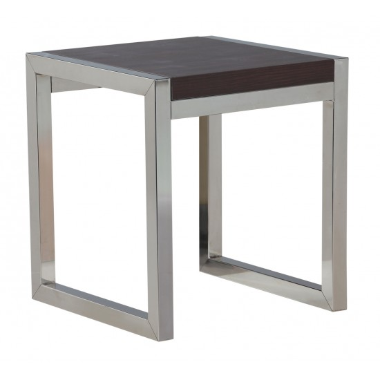 Laminated Top Stainless Steel Coffee Table - GCT-F4040