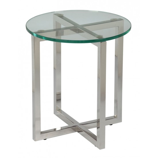 Tempered Clear Glass Coffee Table - GCT-H50