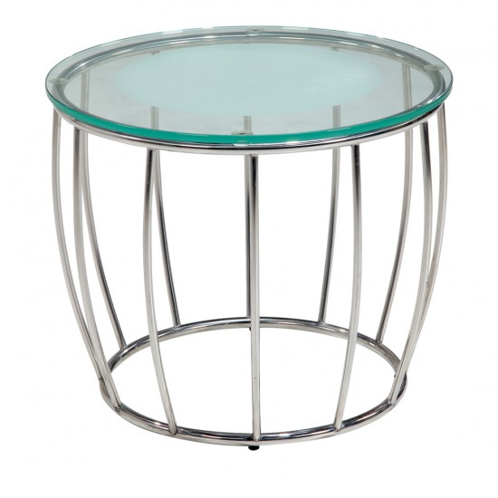 Tempered Clear Glass Coffee Table - GCT-I60
