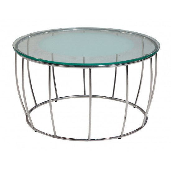 Tempered Clear Glass Coffee Table - GCT-I90