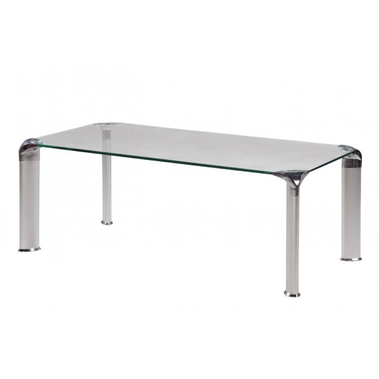 Tempered Clear Glass Coffee Table - GCT-D12060