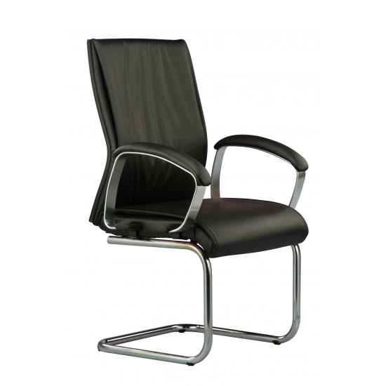 DIVA Leather Series A - Conference Arm Chair