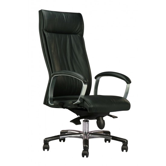 DIVA Leather Series A - Highback Arm Chair
