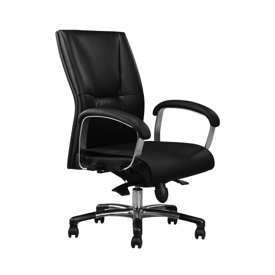 DIVA Leather Series C - Lowback Arm Chair