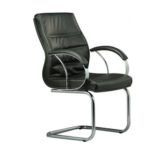 DIVA Leather Series D - Conference Arm Chair
