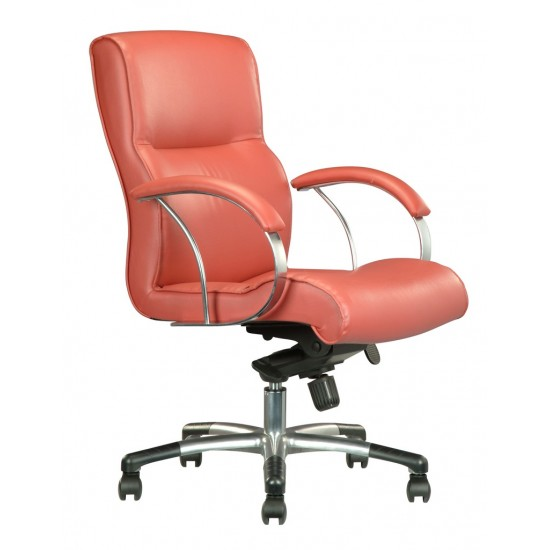 DIVA Leather Series E - Lowback Armchair