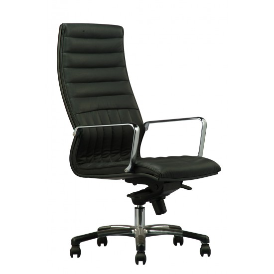 DIVA Leather Series F - Highback Arm Chair