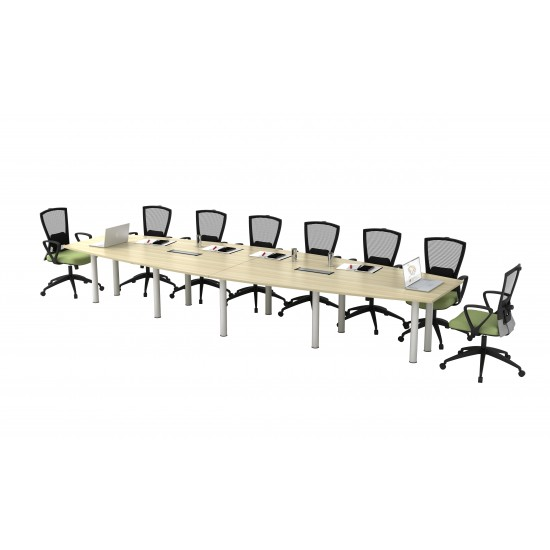 B Series Boat Shape 16 Feet Conference Table
