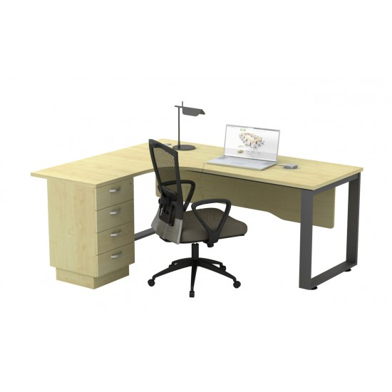 SQ Base Superior Compact Table with 4D Pedestal