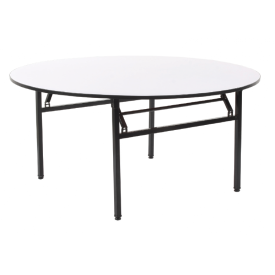 VF Round Foldable Banquet Table with 25mm Legs
