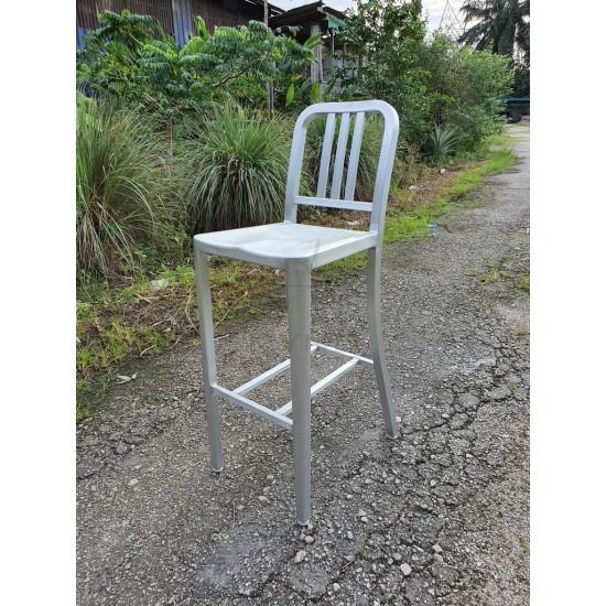 NAVY Aluminum Outdoor Bar Chair