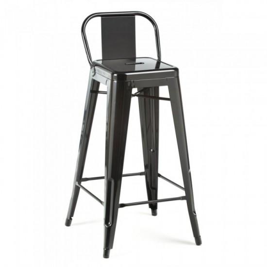 TOLIX Low Back Bar Chair (R)