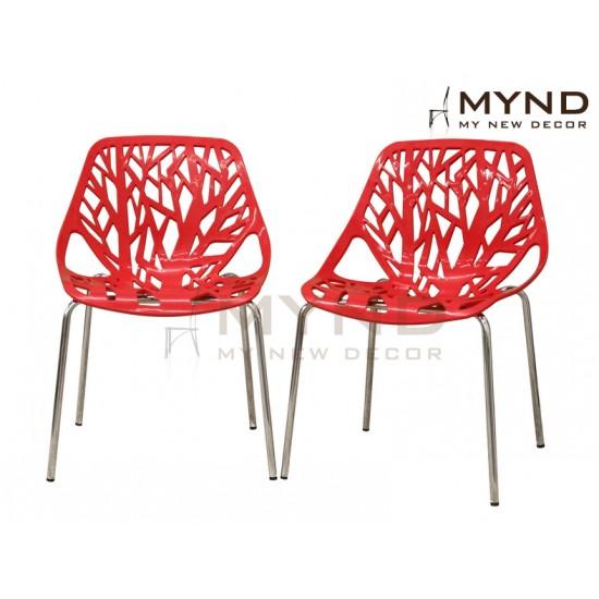 Birch Sapling Plastic Chair (R)