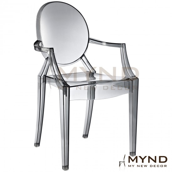 GHOST Dining Arm Chair (R)