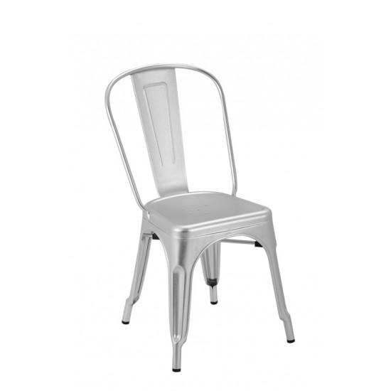 TOLIX Aluminum Side Chair