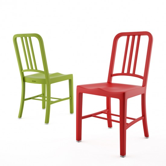 NAVY Dining Side Chair (R)