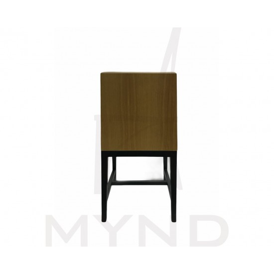 SAMPLE - Customized PVC Dining Chair with Wooden Frame