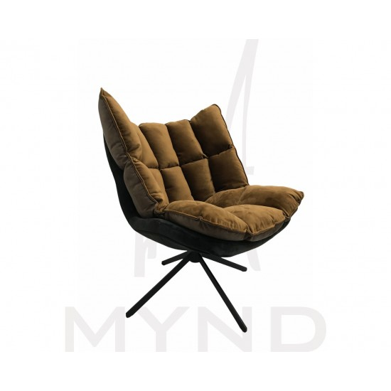 SAMPLE - CHOCO Lowback Swivel Lounge Chair