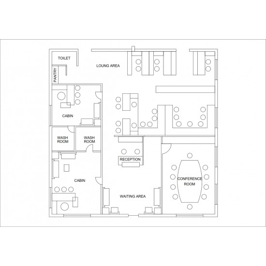 FREE Office Furniture Layout